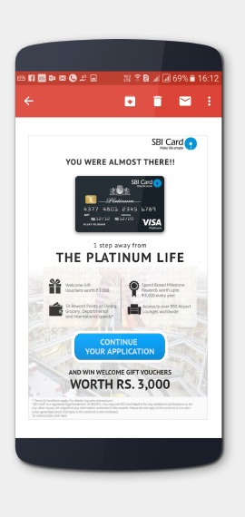SBI Cards Lead Generation